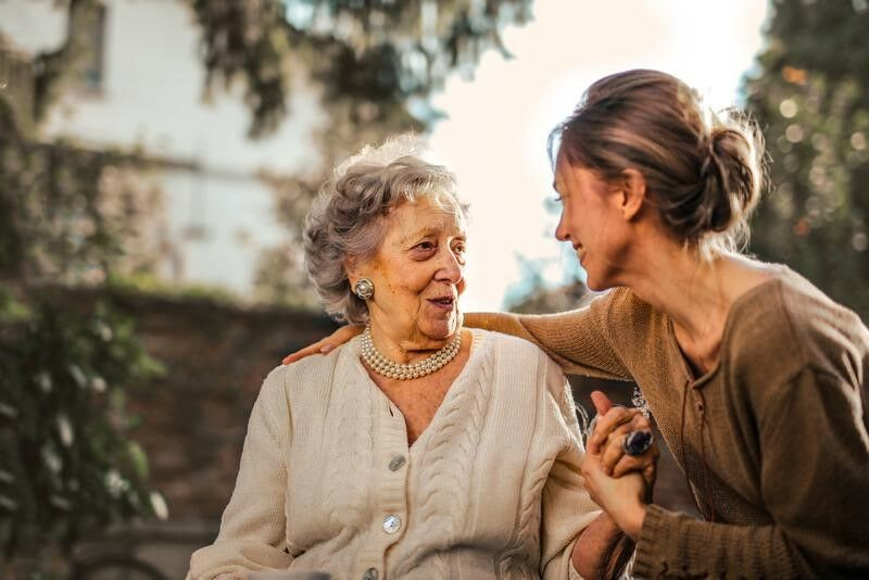 caring for an elderly family member